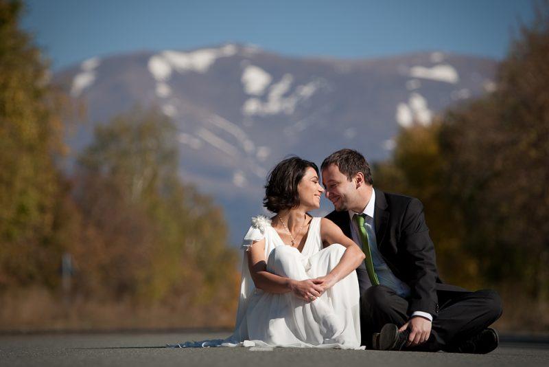 Нова фотосесия след сватбата