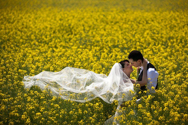 Нова фотосесия в сватбения ден