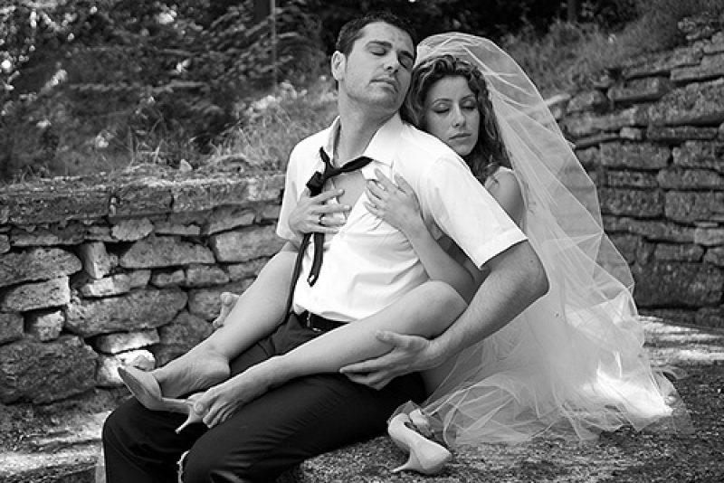 Криси и Наско – фотосесия след сватбата