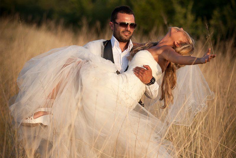 Фотосесия след сватбата на Емилия и Петър
