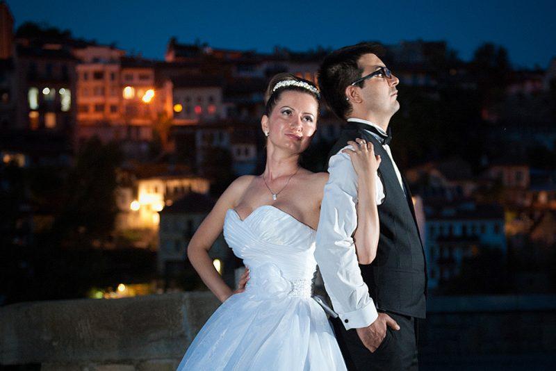 Фото сесия след сватбата на Албена и Здравко