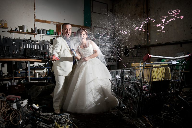 Фотосесия след сватбата на Мая и Ивайло