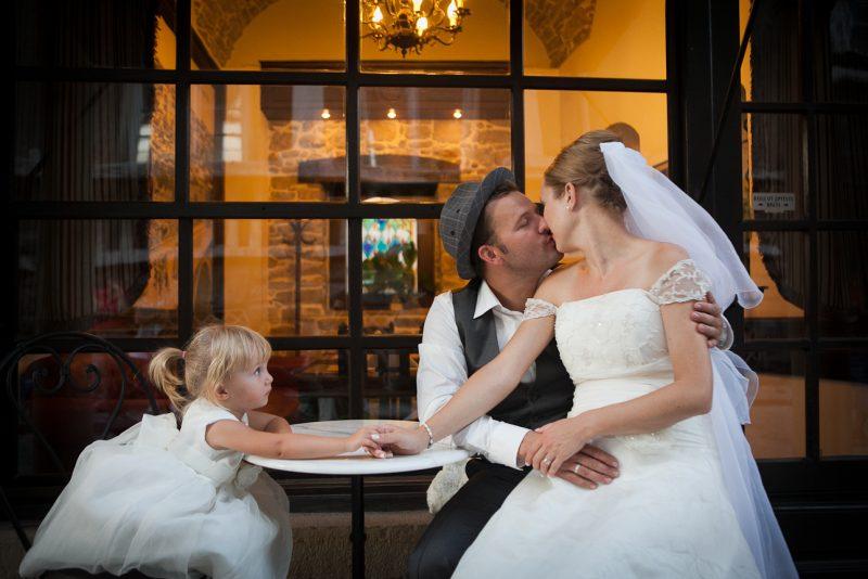 Още една фотосесия след сватбата