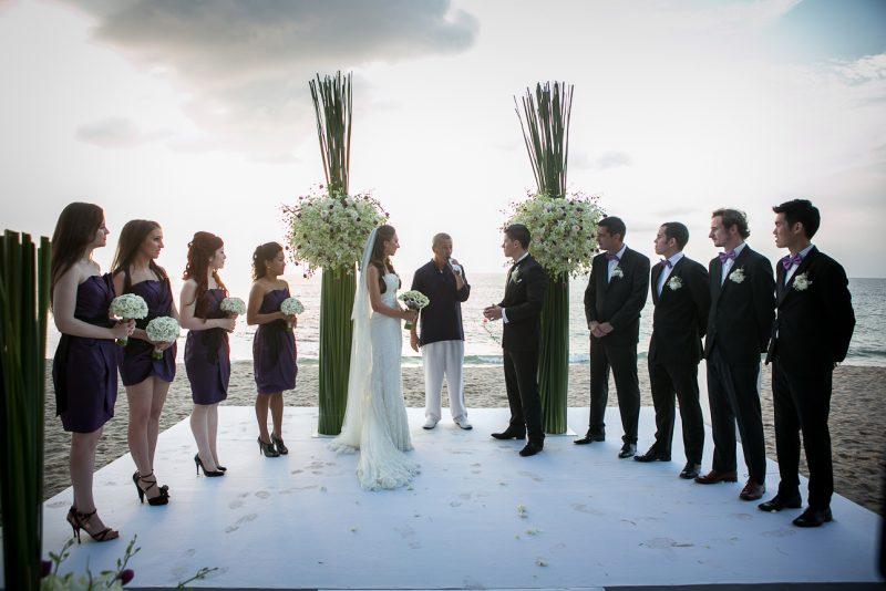 Репортаж от сватбата в Тайланд