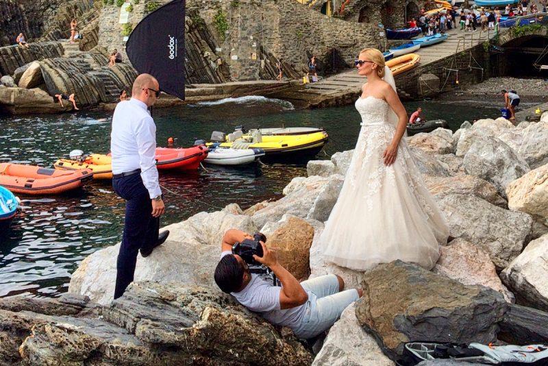 След сватбата – на фотосесия в Италия