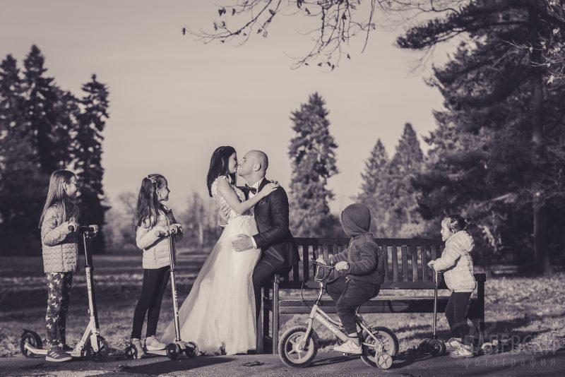 Есенна фотосесия след сватбата на Пламена и Веско