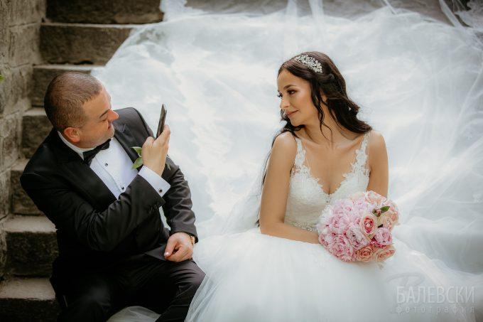 Снимки от сватбата на Ерхан и Николена