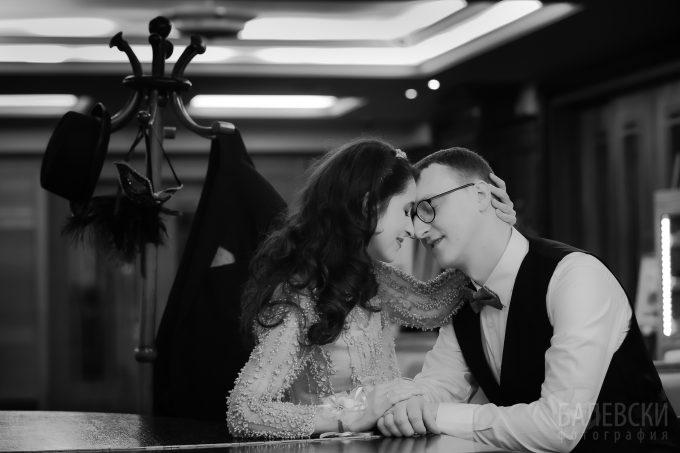 Йоана и Светослав – сесия в сватбения ден