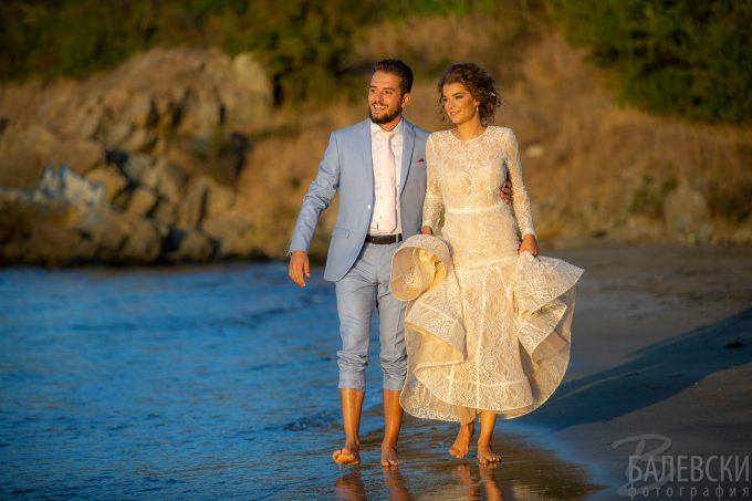 Деспина и Петър – фотосесия в сватбения ден
