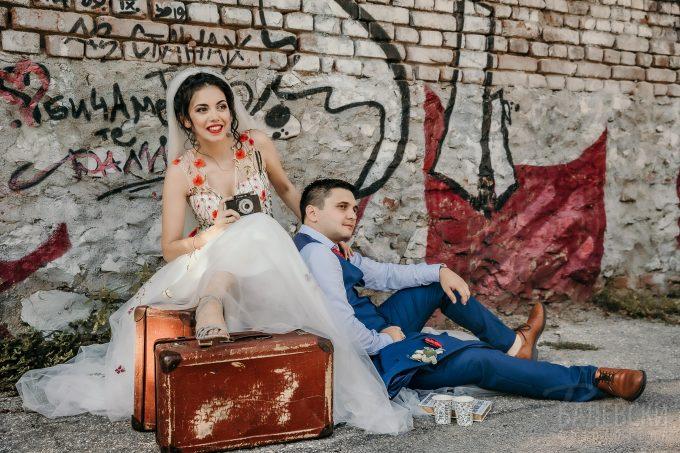 Фото сесия в сватбения ден на Ралица и Цветан