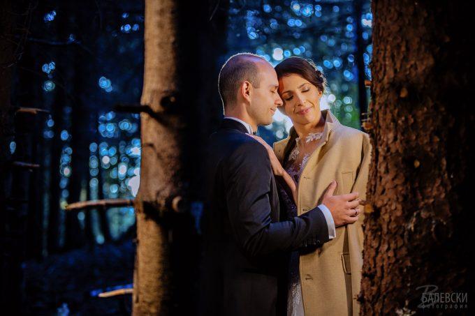 Сесия в сватбения ден на Евгени и Нели
